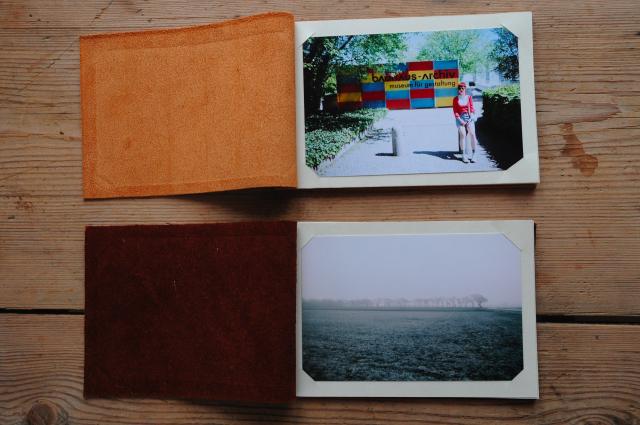 Fotoalbum handbundna